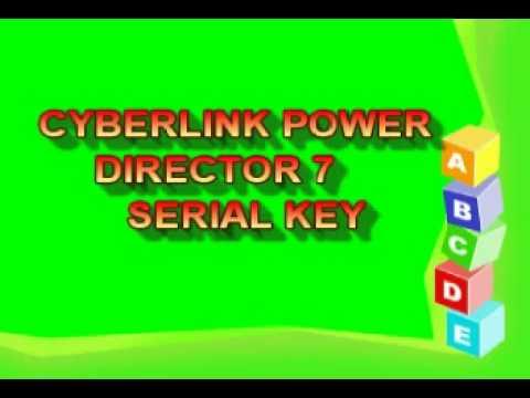 CYBERLINK POWER DIRECTOR 7 SERIAL KEY
