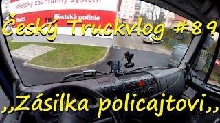 Český Truckvlog #89 - ,,Zásilka policajtovi,, 1/2