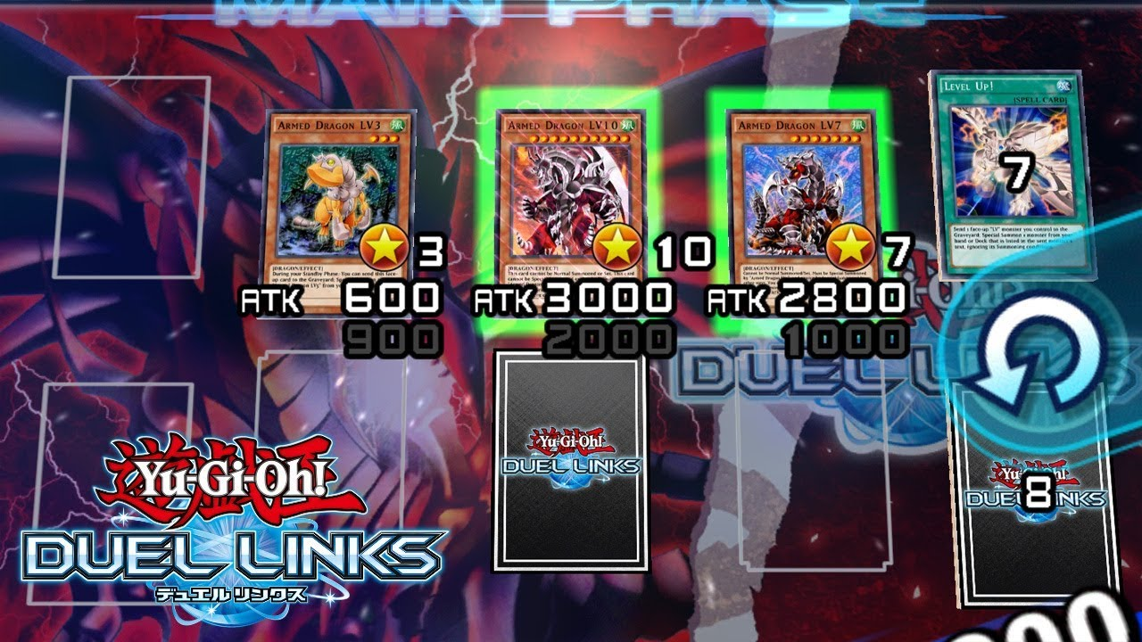 Armored Dragon Deck Duel Links  [Yu-Gi-Oh! Duel Links] How to Farm