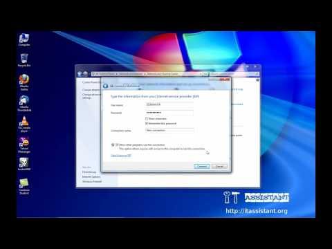 Configurare conexiune PPPoE pe Windows 7