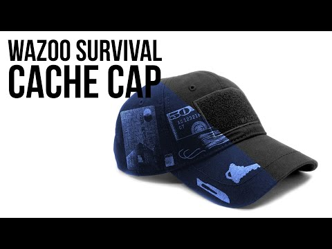 Wazoo Survival Cache Cap | Overview and Review