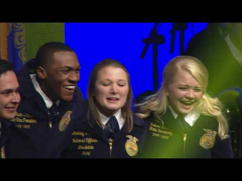2016 - 2017 National FFA Officer Election