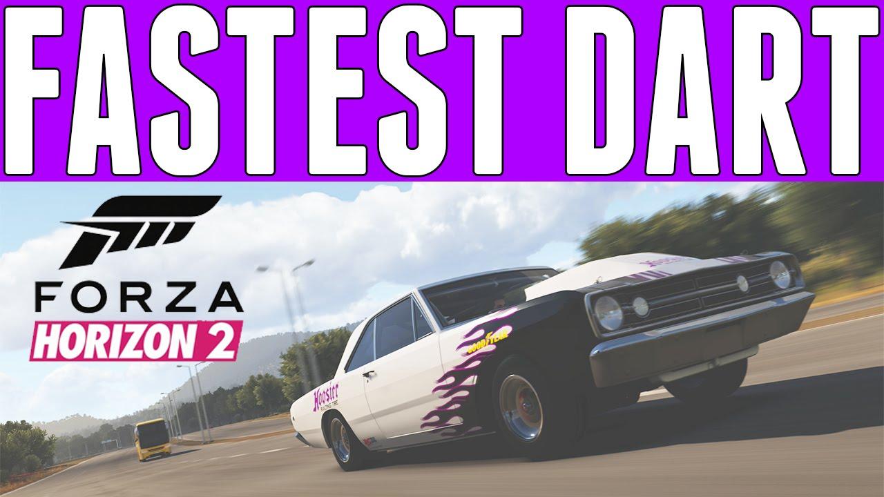 Forza Horizon 2 Fastest US Street Muscle Car : Dodge Dart (224mph ...