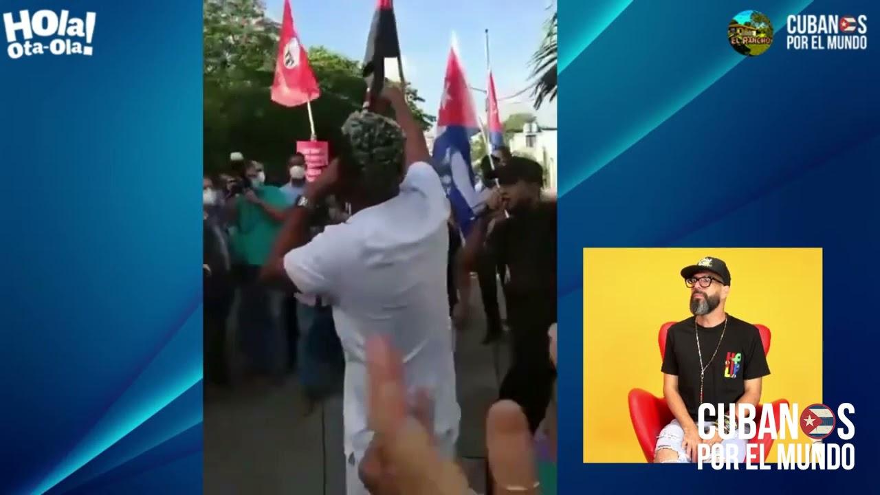El presidente de Cuba Puesto a Dedo, intenta mostrar una imagen de tranquilidad en una Cuba convulsa