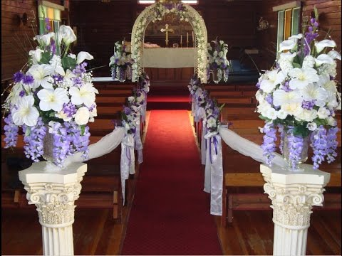 Cheap Wedding Aisle Decorations Ideas l Wedding ...