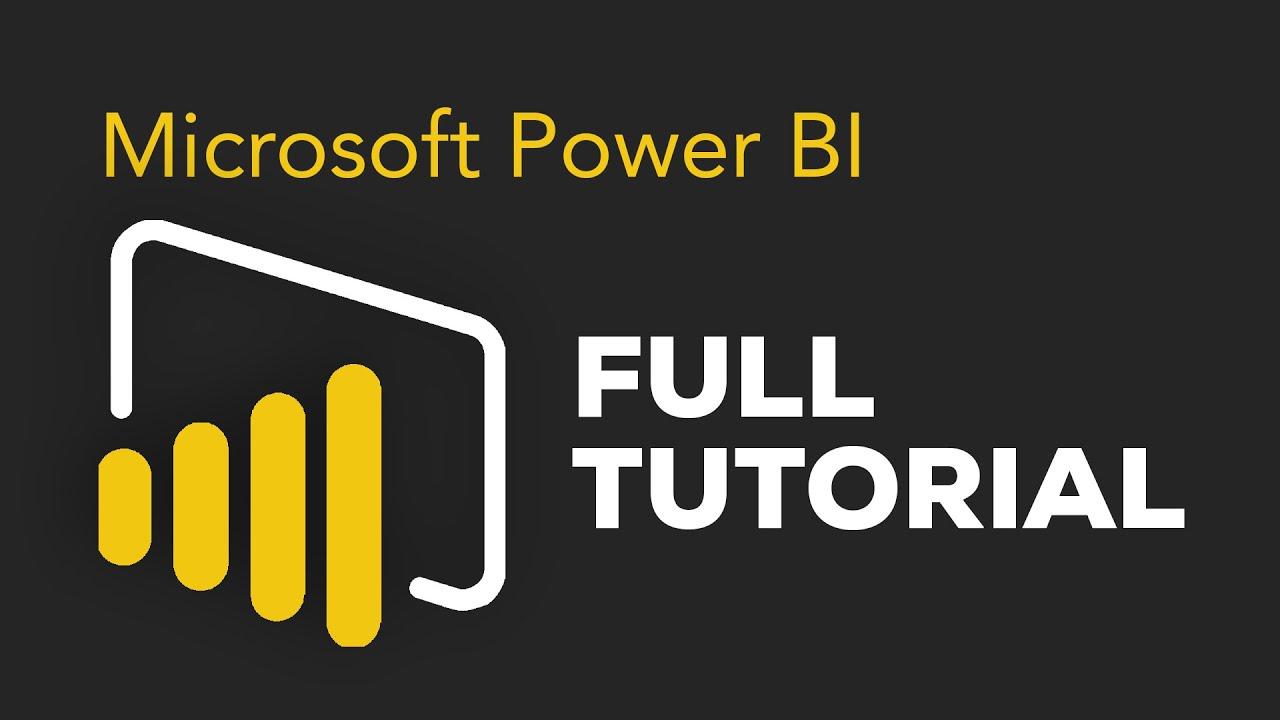 Power BI Tutorial for Beginners - Getting Started