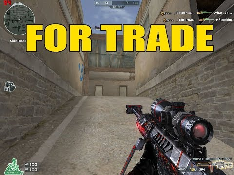 Eagle 2 Ecoin Char VIP M82A1 Barrett Obsidian Beast (For Trade)