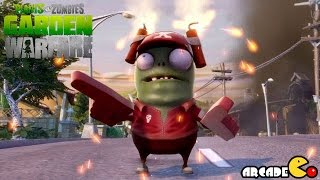 Plants Vs. Zombies: Garden Warfare - The Exploding Zombie Attack (PVZ Garden Warfare)