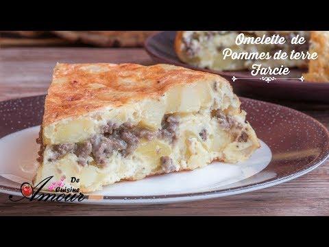 comment-faire-d'une-simple-omelette-un-diner-complet-(-omelette-frite-farcie-à-la-viande-hachée)