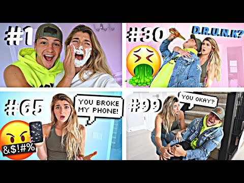 Pranking My Fiance 100 TIMES In The SAME DAY!!!