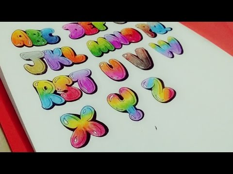 How to Draw & Color Uppercase