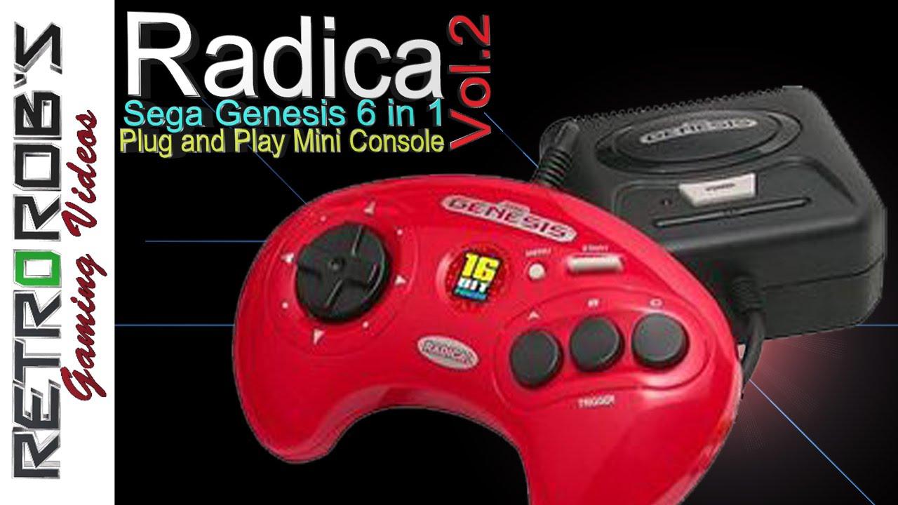 Radica Genesis 6 in 1 Plug and Play Vol 2  Review