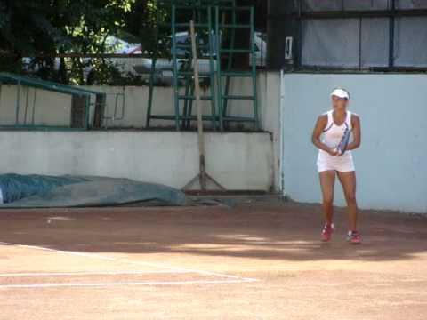 Sabina Lupu at ITF Herastrau.MPG