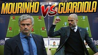 Najlepsza XI MOURINHO vs Najlepsza XI GUARDIOLI | FIFA 18