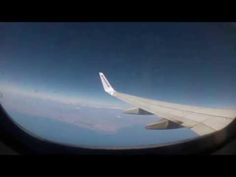 FCO - CRV Ryanair flight (Cockpit)