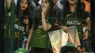 Hot pakistani girl cricket fans