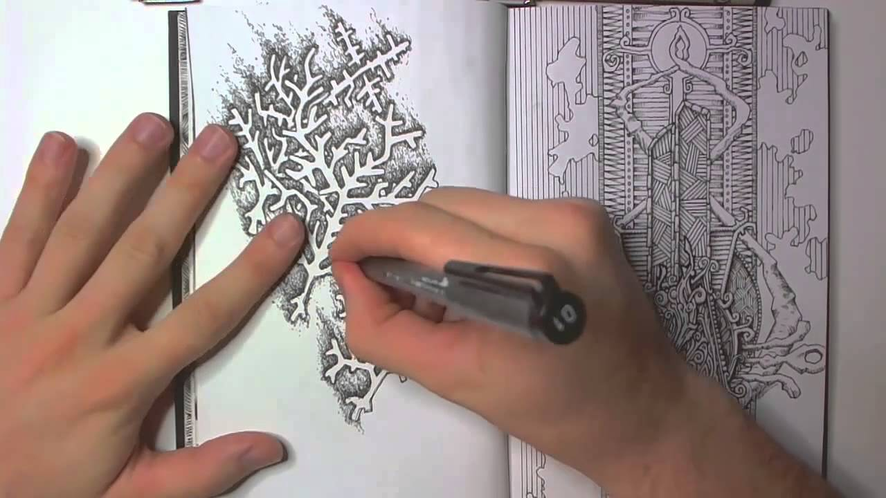 Drawing In My Book 9 And About Inspiration Youtube