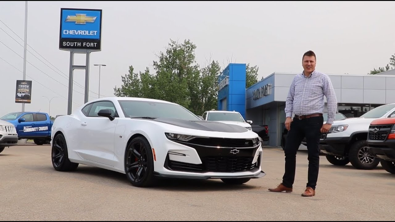 2019 Chevrolet Camaro 2SS 1LE Manual Summit White Review ...