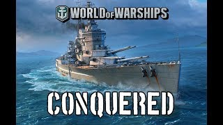 World of Warships - Conquered