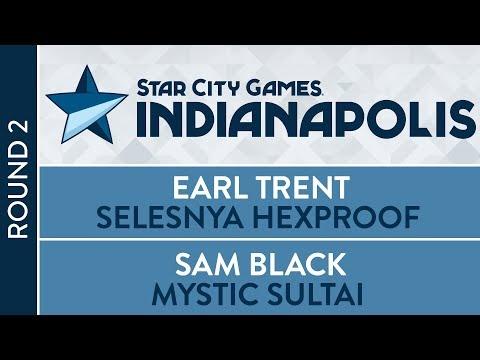 SCGINDY: Round 2 - Earl Trent VS Sam Black [Modern]
