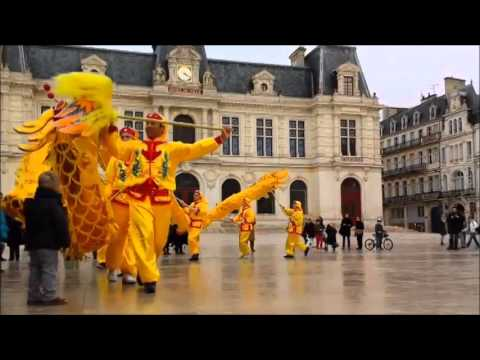 dragon du nouvel an chinois poitiers 2014 youtube. Black Bedroom Furniture Sets. Home Design Ideas