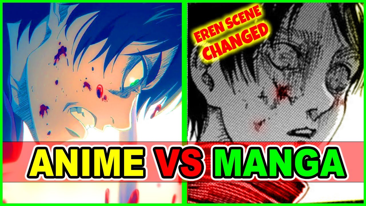 Why Was Eren Scene Changed? AOT S4 Anime Vs Manga | Attack on Titan Season 4 Episode 11