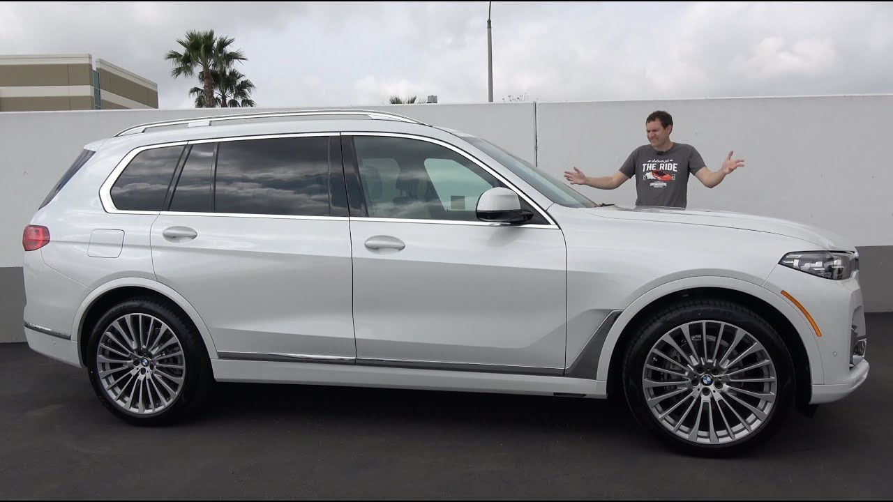 Heres Why The 2019 Bmw X7 Is The Best Big Luxury Suv Youtube