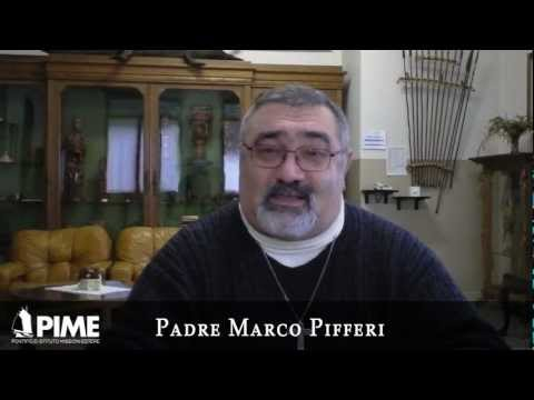 Padre Marco Pifferi rettore della Casa Natale - Auguri di Natale2012.mp4