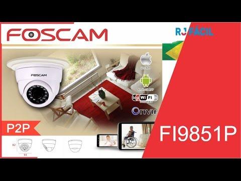 Camera IP Wireless Foscam FI9851P  HD