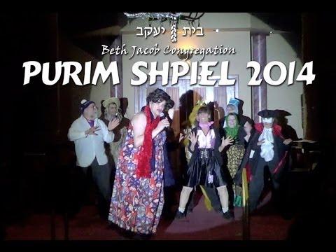 Beth Jacob Purim Shpiel 2014