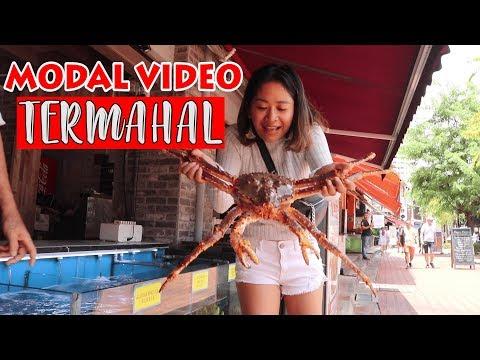 MABUK ALASKAN KING CRAB SEGAR.....#singaporevlog #seafood
