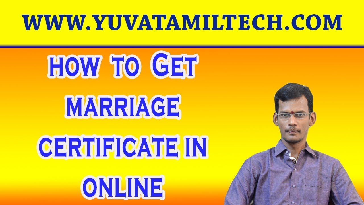 How to get marriage certificate from online in tamilnadu youtube how to get marriage certificate from online in tamilnadu xflitez Image collections