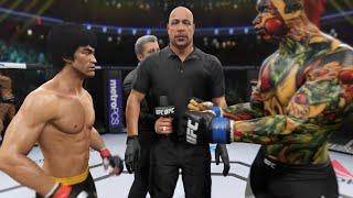 Bruce Lee vs. Dragon (EA Sports UFC 2)