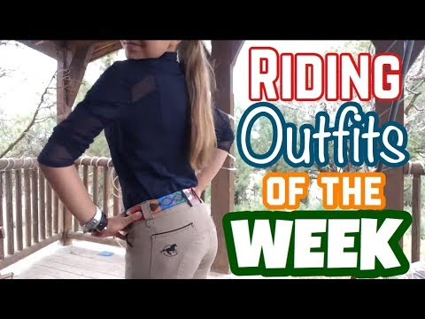 Summer Riding Outfits of the Week – ROOTW