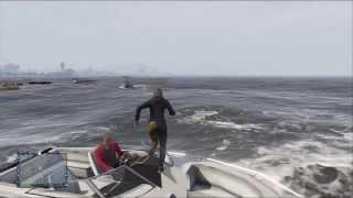 GTA 5 ONLINE: Jet Ski/Boat Ride! (Extra)