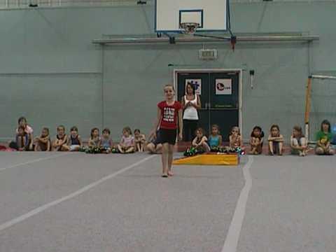 Burnham Gymnastics Display Part 2. 21 08 2009