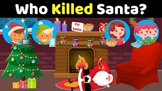 3 Mystery Riddles That'll Twist Your Brain 😮 l Christmas Riddles
