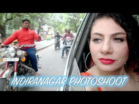 BANGALORE VLOG: INDIRANAGAR PHOTOSHOOT  | TRAVEL VLOG IV