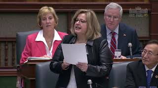 MPP Thompson questions Liberals on reckless, retaliatory legislation