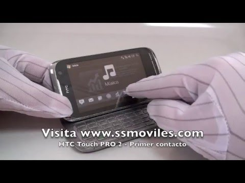 HTC Touch Pro 2 (Rhodium) - Primer contacto - First contact