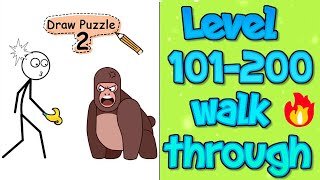 Draw Puzzle 2 (WEEGOON) Level 101 to 200 Android Gameplay Walkthrough - All Levels Solution Part 2