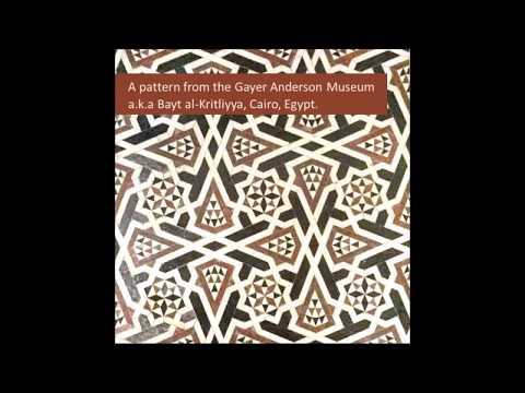 #27 Bayt Al Kritliyya, Cairo Egypt  - How to draw Islamic Geometry - زخارف اسلامية هندسية