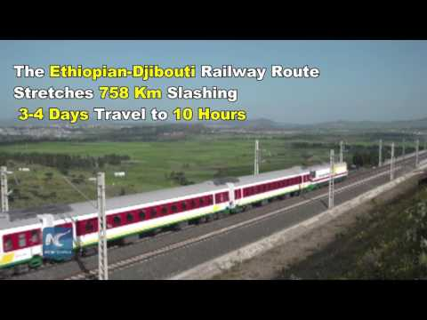 Addis Ababa Djibout Railway Test Run Launched