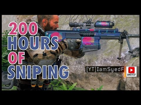 200 hours of SNIPING ONLY in BO4 | Call Of Duty Black Ops 4