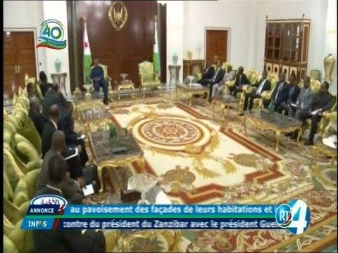 Télé Djibouti Chaine Youtube : JT Somali du 07/05/2017