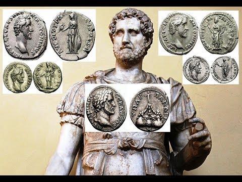 ✅Монеты Древнего Рима, АНТОНИН ПИЙ, 86 г. — 161 г., Часть 1, Coins Of Ancient Rome, Antoninus Pius👍