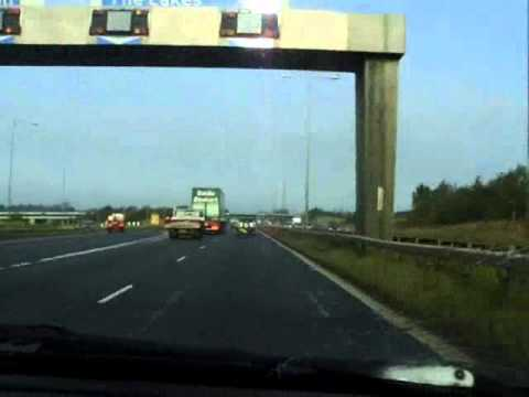 M6 North to Scotland