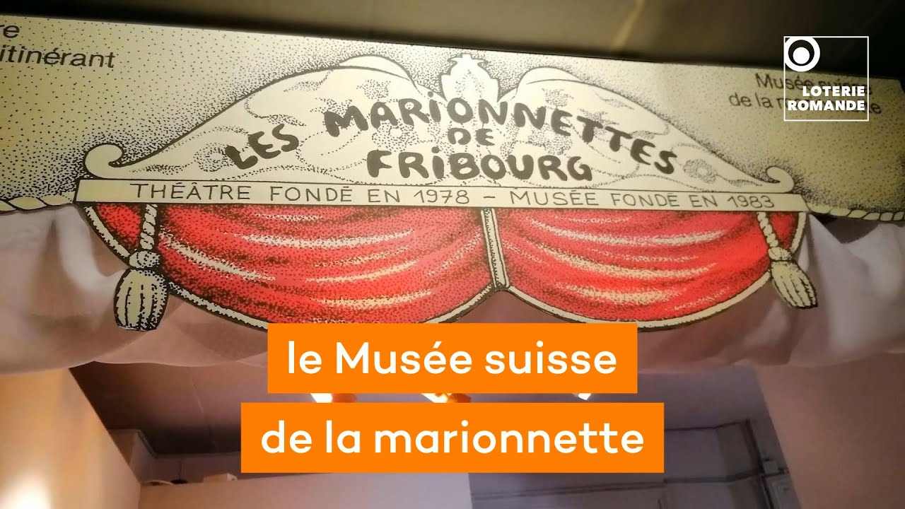La Loterie Romande soutient le Musée suisse de la marionnette