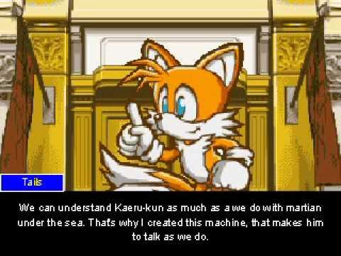 Phoenix Wright: Sonic v. Amy ENGLISH (Part 3)