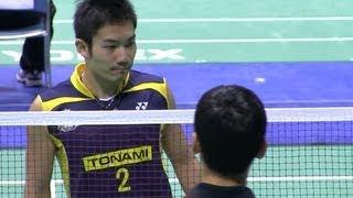 Badminton 園田啓悟 × 金子祐樹 全日本総合バドミントン2012-1205